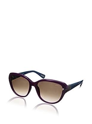 Lanvin Women's SLN595 Sunglasses, Purple/Blue