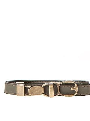 Javier Simorra Cinturón Metalicbelt (marrón)