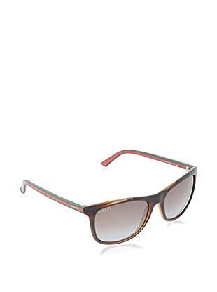 Gucci Sonnenbrille 1055/S TF 0VY (55 mm) havanna DE 55-17-145 (55-17-145)