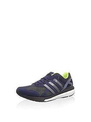 adidas Adizero Tempo 7 W, Damen Laufschuhe, Blau (Midind/Ironm), 36 EU (3.5 Damen UK)