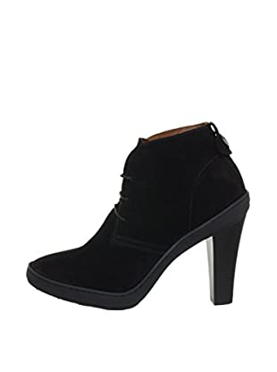 Voile Blanche Zapatos Abotinados