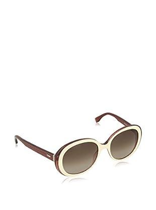Fendi Gafas de Sol 0001/S HA_7PB (55 mm) Marrón / Crema