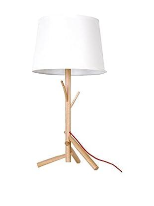 Lámpara De Sobremesa Pohon Madera Haya