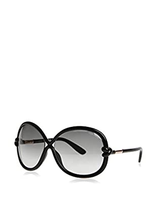 Tom Ford Gafas de Sol Ft185 01B (64 mm) Negro / Oro / Gris