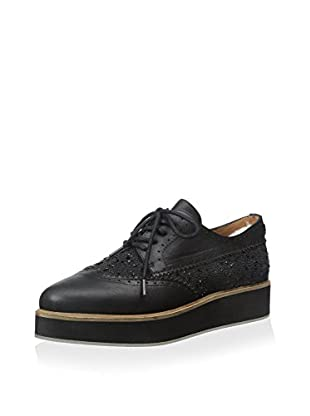 Australia Luxe Collective Women's Beefeater Flatform Oxford with Crystal Embellishment