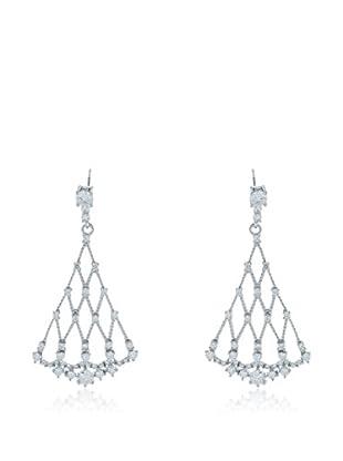 ANDREA BELLINI Ohrringe Pendantes Lustrées Sterling-Silber 925