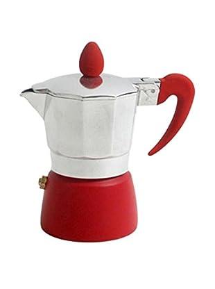 San Ignacio Cafetera 1T Soft Touch Splash Rojo