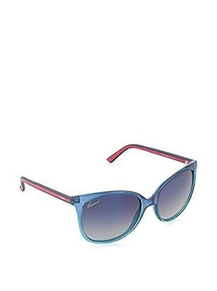 Gucci Sonnenbrille 3649/S DK 836 (56 mm) blau 56-17-140