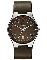 Skagen Analog Brown Dial Men's Watch - SKW6038