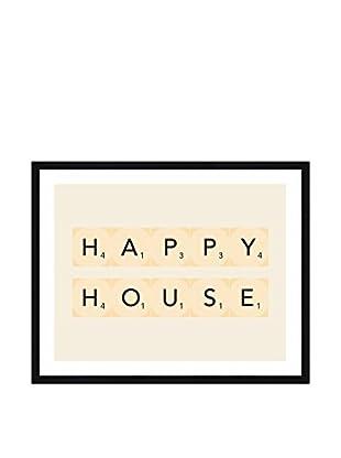 Really Nice Things Bild Happy House ecru