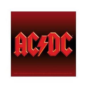 【クリックで詳細表示】AC/DC - LOGO ステッカー [おもちゃ&ホビー]