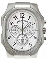 Philip Stein Signature Silver Dial Large Chronograph Mens Watch 23-Nw