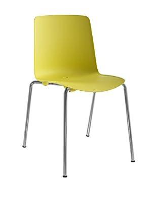 COLOS Stuhl 2er Set Vesper 1 gelb/chrom