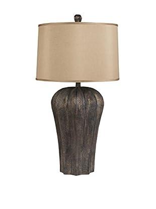 Surya Bronze Table Lamp, Bronze/Copper Metallic