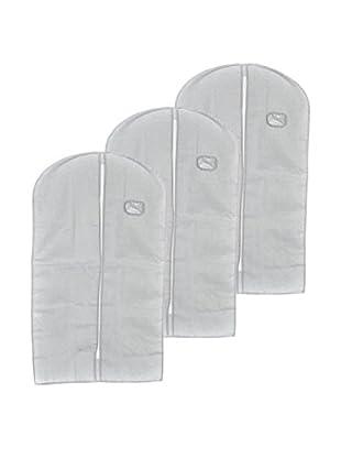 Neutral Set funda ahorra espacio 3 Uds. Suit Blanco