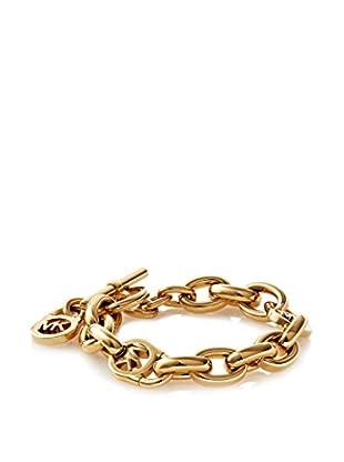 Michael Kors Gold-Tone Chain Link Padlock Bracelet