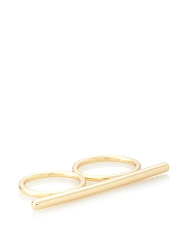 Jules Smith Gold Knuckle Lover Stackable Ring, 6/7