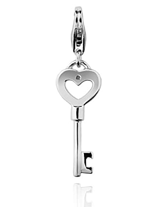 Secret Diamonds Charm Clave Plata 925 Diamante