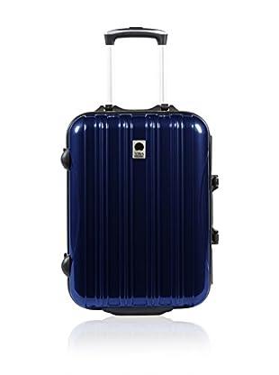 VISA DELSEY Trolley rígido New Aero Azul 51.5 cm