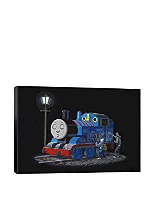 Banksy Thomas The Tank Engine Gallery Wrapped Canvas Print