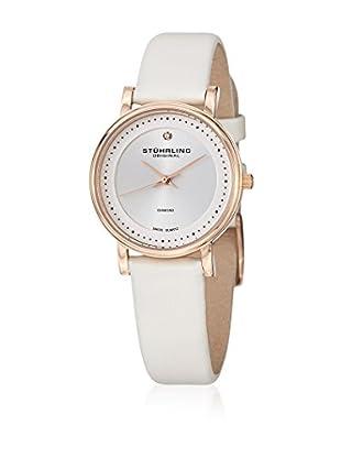 Stührling Original Reloj con movimiento cuarzo suizo 734Ls2.Set.02 Ascot 734Ls2 Blanco