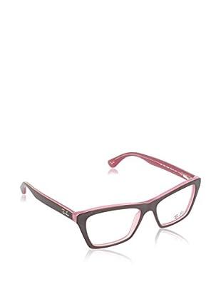 Ray-Ban Gestell 5316 538653 (53 mm) braun/rosa