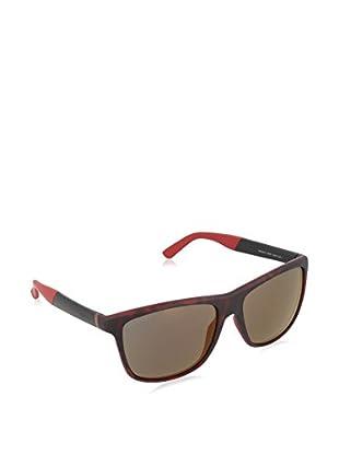 GUCCI Gafas de Sol 1047/ S CT H76 (58 mm) Negro / Rojo