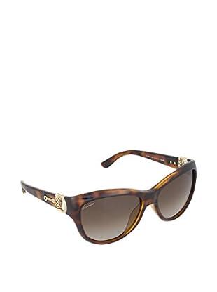 Gucci Sonnenbrille 3711/SHAQ18 braun
