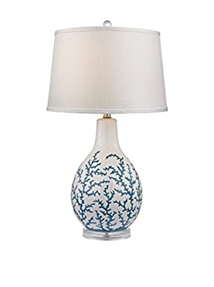 Artistic Lighting Blue Coral Ceramic Table