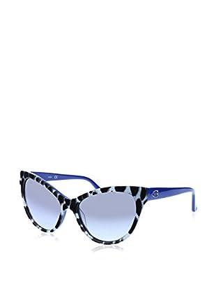 GUESS Sonnenbrille 7430 (56 mm) schwarz/weiß