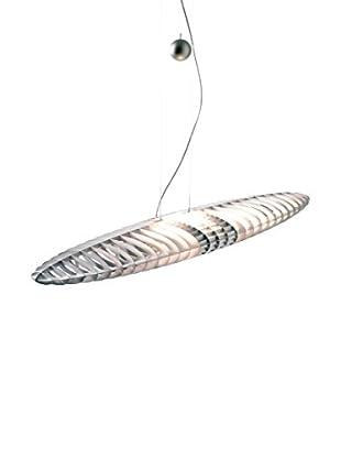 LUCEPLAN Lámpara De Suspensión Titania D17 aluminio 70x27x8 H 100/250 cm