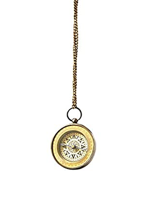 Sage & Co. Brass Compass Ornament