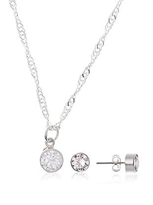 My Silver Conjunto de cadena, colgante y pendientes  plata de ley 925 milésimas