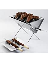 Charcoal Stainless Steel Nano Barbecue Grill