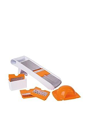 Molecuisine Küchen Zubehör Mandolina weiß/orange
