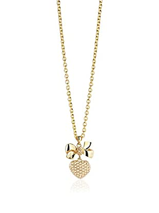 GUESS Collar Ubn21587 Dorado 45 mm