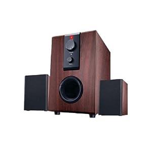 iBall Raaga 2.1 Q9 Full Wood Speakers ((Rosewood))