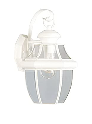 Crestwood Mabel 1-Light Wall Light, White