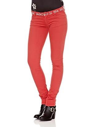 Desigual Pantalón Paloma (Rojo)