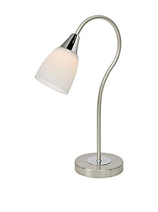 WOFI Tischlampe LED Casa chrom