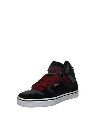 Vans Zapatillas Allred (Negro / Rojo)