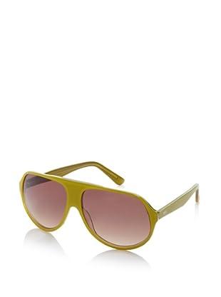 Gotz Switzerland Men's Aviator Sunglasses, Olivine, One Size