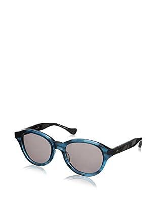 DITA Women's Corsica 22002 Sunglasses, Dark Blue Swirl Crystaline