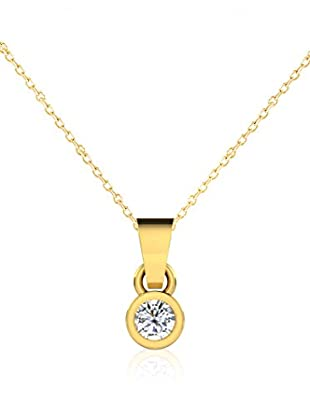 Friendly Diamonds Conjunto de cadena y colgante FDP6242Y Oro Amarillo