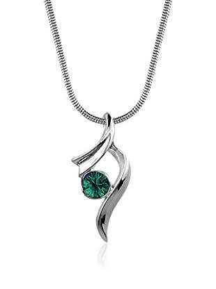 Absolute Crystals Set Kette und Anhänger Ribbon Xillion smaragd