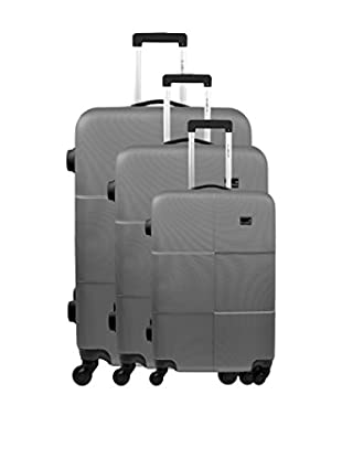 BLUESTAR 3er Set Hartschalen Trolley Miami