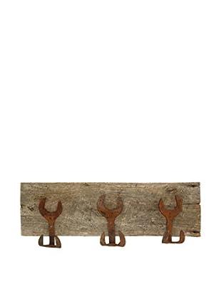 Uptown Down Triple Wrench Coat Rack