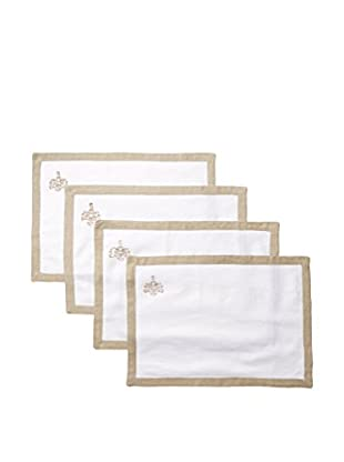 Pom Pom at Home Set of 4 Lux Placemats, Natural