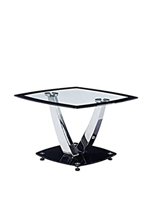 Luxury Home Glass Table, Black