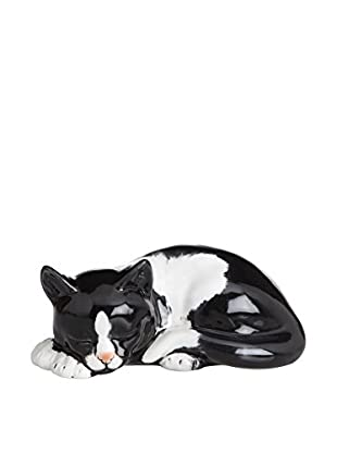 Love Tiffani Keramikfigur Animal 15 x 8 cm schwarz/weiß